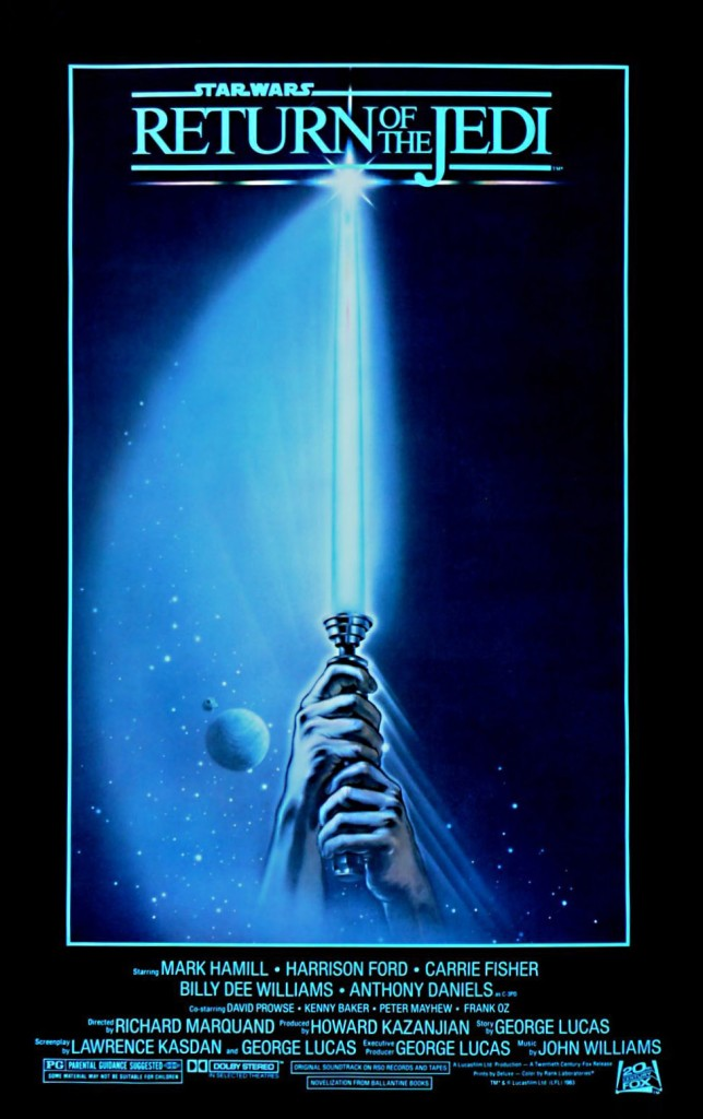 Star Wars - Return Of The Jedi (1983) Style A by Tim Reamer